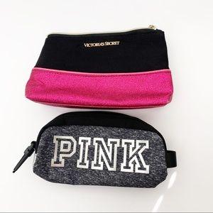 Victoria's Secret & PINK Makeup Bag Lot